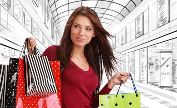 10 способов побаловать себя любимую: Займитесь шоппингом