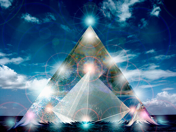 духовные практики: Кристальная пирамида