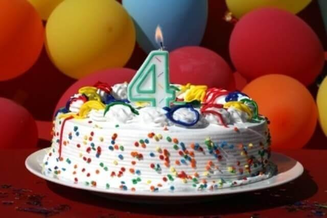 Поздравление с днем рождения 4 года компании