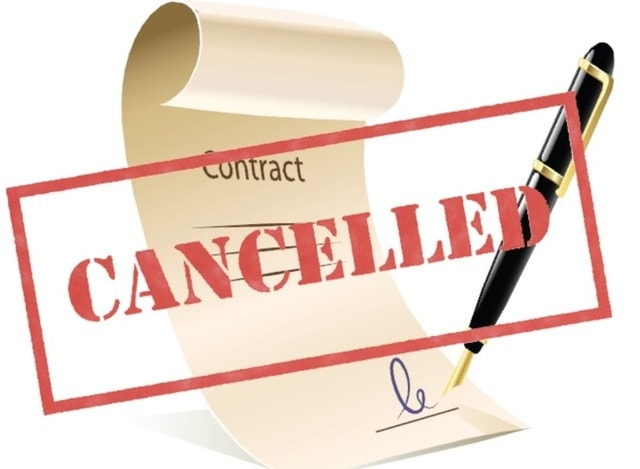 Обнуление контрактов и договоренностей