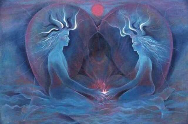 Близнецовое пламя - его происхождение и отличие от родственной души