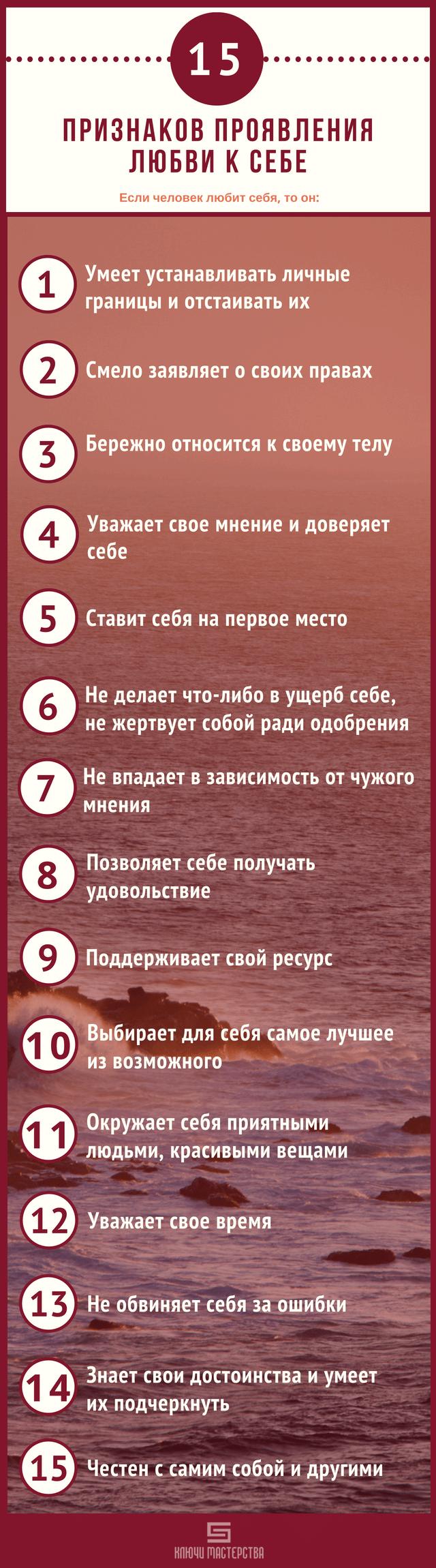 Что значит полюбить себя. 15 признаков, которые указывают на то, что вы любите себя