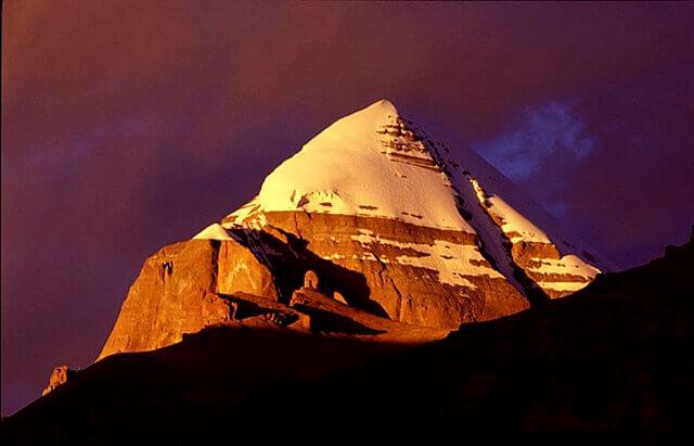 Чакры земли: Седьмая чакра - гора Кайлас