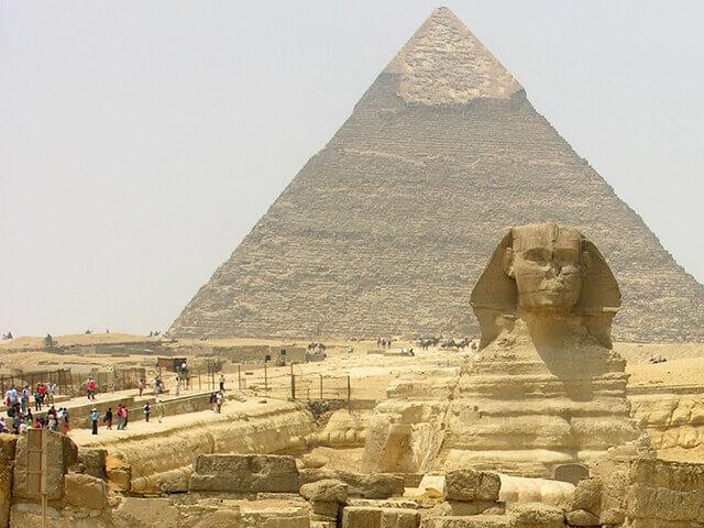 Чакры земли: Пятая чакра - Великая Пирамида