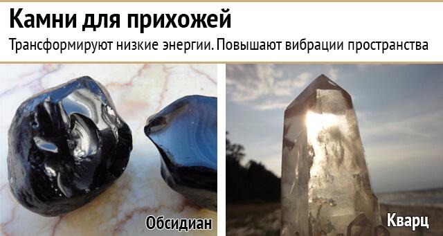 Энергия камней для разных помещений вашего дома
