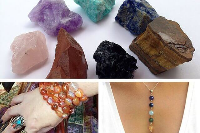 how to open chakras: stones