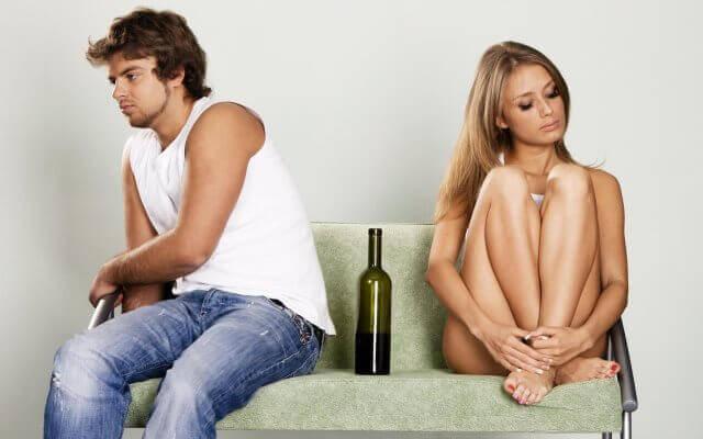 кармические отношения: алкоголизм