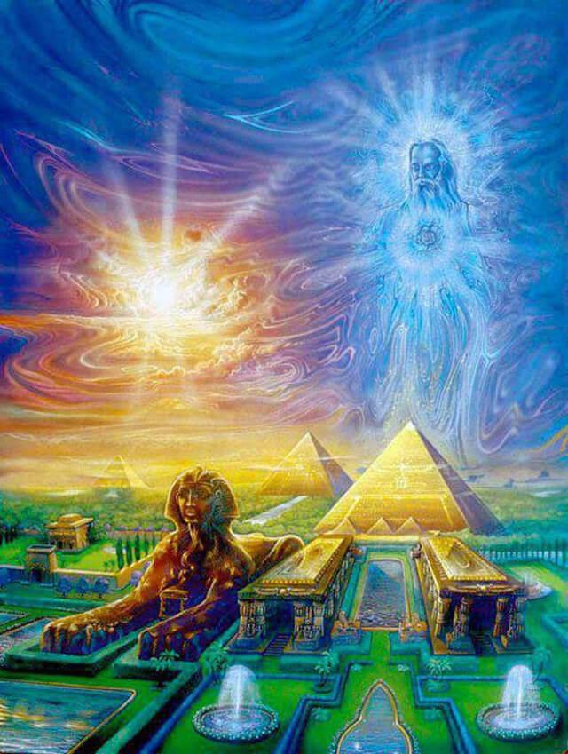 Места Вознесения: Место вознесения в палате Царей в пирамиде Гиза