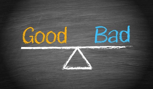Два критерия ума – хорошо/плохо